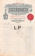 29-0611    1913 EPICERIE ET COMESTIBLES BENEDICTINE A AUBUSSON - France