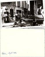 PHOTO 132 X 84. VIEUX NICE SEPT 1950 RESTAURANT AUX COQUETTERIE - Photographie