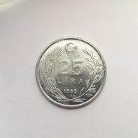 25 Lira Münze Aus Der Türkei Von 1988 (schön) - Türkei