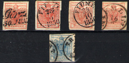 Austria Nº 3 Y 5A - Used Stamps