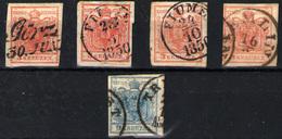 Austria Nº 3 Y 5A - 1850-1918 Empire