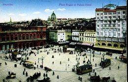 007589  Bruxelles - Place Rogier Et Palace Hôtel - Plätze
