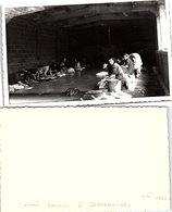PHOTO 132 X 84. DOUARNENEZ LAVOIR COUVERT AVRIL 1952 - Photographie