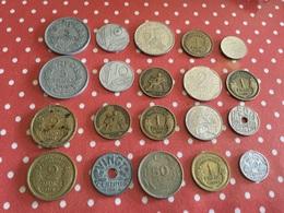Lot De 20 Pièces Voir Le Scan - Münzen & Banknoten