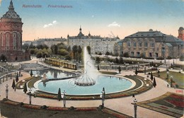 Cartolina Mannheim Friedrichsplatz 1912 - Cartoline