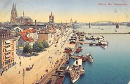 Cartolina Koln Panorama 1911 - Cartoline