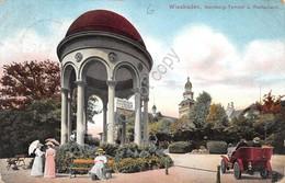 Cartolina Wiesbaden Neroberg Tempel U.Restaurant 1912 - Cartoline