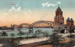 Cartolina Mainz Kaiserbrucke 1912 - Cartoline
