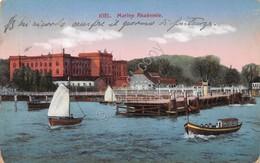 Cartolina Kiel Marine Akademie 1915 - Cartoline