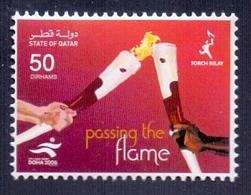 2006 Qatar Torch Relay Stamps 1Values MNH - Qatar