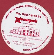 Sticker Autocollant Knokke Heist De Muynck Elektriche Huishoud- En Verwarmingstoestellen Aufkleber Adesivo - Stickers