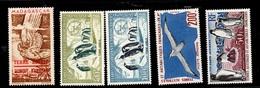TAAF Poste Aérienne YT N° 1/5 Neufs TB. A Saisir! - Airmail