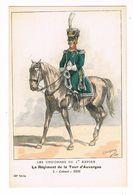 Uniforme.1er Empire. Colonel. 1808.   BUCQUOY.  (67) - Uniformen