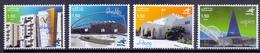 2006 QATAR Sports Venue Stamps Complete Set 4 Values MNH - Qatar