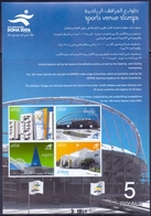 2006 QATAR Sports Venue Stamps Souvenir Sheet MNH - Qatar