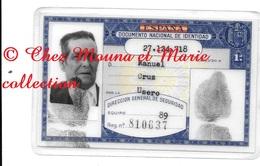 CARTE D IDENTITE 1978 ESPAGNE MANUEL CRUZ NE 1904 TABERNAS - Documents Historiques