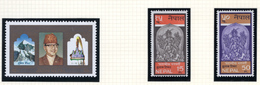 1969/70 - NEPAL  -  Mi. Nr.  243/244+248 - NH - (CW4755.43) - Nepal