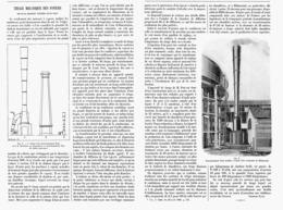 TIRAGE MECANIQUE Des FOYERS Nouveau Procédé Systéme LOUIS PRAT   1901 - Ciencia & Tecnología