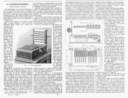 LE CLASSICOMPTEUR-IMPRIMEUR   1901 - Ciencia & Tecnología