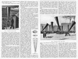 LES TIRS CONTRE LA GRELE  1901 - Ciencia & Tecnología