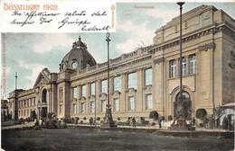 Cartolina Dusseldorf Kunstpalastrasse 1902 - Cartoline