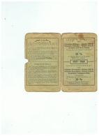 CARTE D'IDENTITE PRISONNIER DE GUERRE 1940 1945 HABITANT  DE ESTINNES AU MONT (BELGIQUE ) - 1939-45