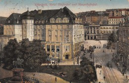 Cartolina Elberfeld Hotel Kaiserhof 1921 - Cartoline