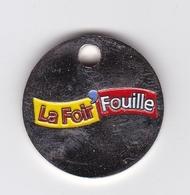 Jeton De Caddie En Métal - La Foir'Fouille - Magasins - Trolley Token/Shopping Trolley Chip