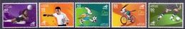 2006 QATAR 15th Asian Games Doha Complete Set 5 Values MNH - Qatar