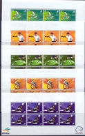 2006 QATAR 15th Asian Games Doha Complete Set 5 Full Sheet  MNH - Qatar