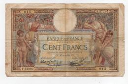 Billet Banque De France 10 Dix Francs 1932 Et 1940 100 Cent Francs 1938 (3 Billets) - 1871-1952 Antichi Franchi Circolanti Nel XX Secolo