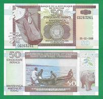 BURUNDI - 50 FRANCS – 1999 -  UNC - Burundi