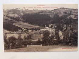12 CÉRONS - AUBIN - DECAZEVILLE  Carte En état Concours - Mines De La Planquette  DEN895 - Decazeville