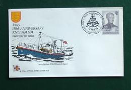 Jersey Q E II RNLI 1824-1974 150th Anniversary  # 8 - Jersey