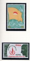 1968 - NEPAL  -  Mi. Nr.  228/229 - NH - (CW4755.43) - Nepal