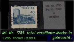 TURKEY ,EARLY OTTOMAN SPECIALIZED FOR SPECIALIST, SEE.... Mi. Nr. -.- 1785 Total Verzähnt - 1921-... República