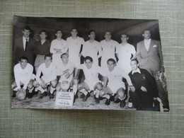 PHOTO EQUIPE DE FOOT FOOTBALLEURS COUPE CHAMPIONS EUROPEENS 1956 - Sport