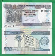 BURUNDI - 500 FRANCS – 2013 -  UNC - Burundi