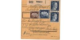 Colis Postal  -   De Trifail - Deutschland