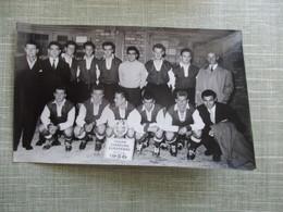 PHOTO EQUIPE DE FOOT FOOTBALLEURS COUPE CHAMPION EUROPEENS FINALE 1956 - Sport