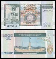BURUNDI - 1000 FRANCS – 2009 -  UNC - Burundi