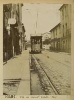 Gard. Nîmes. Le Chemin D'Uzès. Tramway. 1903. - Lieux