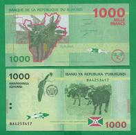 BURUNDI - 1000 FRANCS – 2015 -  UNC - Burundi
