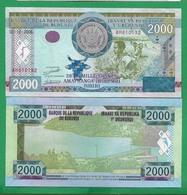 BURUNDI - 2000 FRANCS – 2008 -  UNC - Burundi