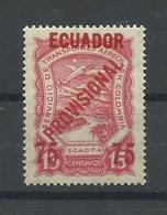 ECUADOR YVERT AEREO  2  MH  * - Ecuador