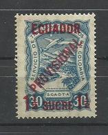 ECUADOR YVERT AEREO  4   MH  * - Ecuador