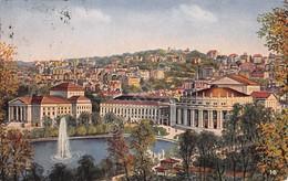 Cartolina Stuttgart Landestheater 1927 - Cartoline