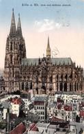 Cartolina Koln Dom Und Sudliche Altstadt Anni '30 - Cartoline