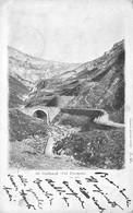 Cartolina St. Gothard Val Tremola 1900 - Cartoline