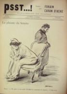 """JOURNAL SATIRIQUE """"PSST""""-1898/19-CARAN D'ACHE,FORAIN-REINACH, PACHAS-rare - Libri, Riviste, Fumetti"""